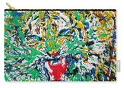 Roaring Enamel Tiger Carry-all Pouch