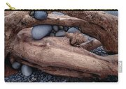 Rocks  In Driftwood Carry-all Pouch