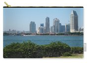 San Diego Viewed From Coronado Island Carry-all Pouch
