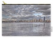 Seattle Skyline Cityscape Tonemapped Carry-all Pouch