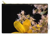 Shy Yellow Flower Carry-all Pouch