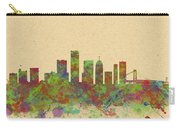 Skyline Of Detroit Usa Carry-all Pouch