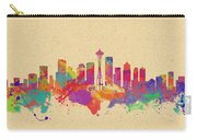 Skyline Of Seattle  Usa Carry-all Pouch