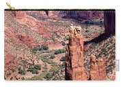 Spider Rock In Canyon De Chelly Carry-all Pouch