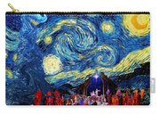 Starry Night In Bethlehem Carry-all Pouch