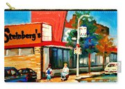 Steinbergs Grocery Store Paintings Vintage Montreal Art Order Prints Originals Commissions Cspandau Carry-all Pouch