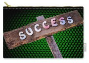 Success Sign Post Carry-all Pouch