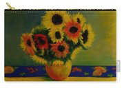 Summer Sunflowers  Carry-all Pouch