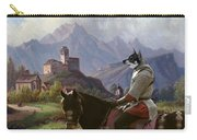 Swedish Elkhound - Jamthund Art Canvas Print Carry-all Pouch