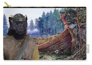 Swedish Lapphund Art Canvas Print  Carry-all Pouch