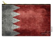 The Flag Of The Kingdom Of Bahrain Vintage Version Carry-all Pouch