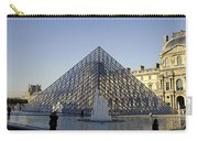 The Glass Pyramid Of The Musee Du Louvre In Paris France Carry-all Pouch