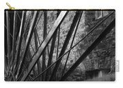The Old Mill-black And White Carry-all Pouch