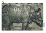 The Rhinoceros Carry-all Pouch by Albrecht Durer