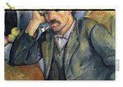 The Smoker Carry-all Pouch by Paul Cezanne