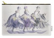 Three Kings Dancing A Jig Carry-all Pouch