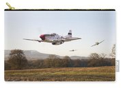 Through The Gap Carry-all Pouch by Pat Speirs