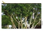 Trees In A Suburban Neighborhood In Summer Carry-all Pouch
