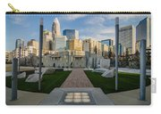 View Of Charlotte Skyline Carry-all Pouch