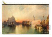 View Of Venice Carry-all Pouch by Thomas Moran