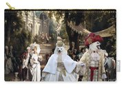Volpino Italiano Art Canvas Print Carry-all Pouch