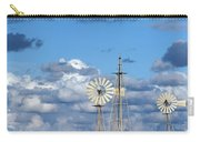 Water Windmills Carry-all Pouch by Stelios Kleanthous