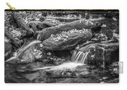 Waterfall Great Smoky Mountains Painted Bw    Carry-all Pouch