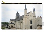 West Facade Of The Church - Fontevraud Abbey Carry-all Pouch