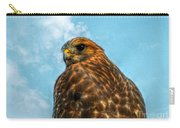 What Are You Looking At Red Shoulder Hawk Carry-all Pouch