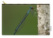 White-legged Damselfly Carry-all Pouch