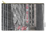 0007 Radio City Music Hall Carry-all Pouch