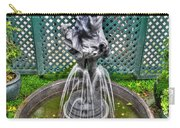 001 Fountain Buffalo Botanical Gardens Series Carry-all Pouch