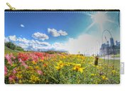 001 Niagara Falls Misty Blue Series Carry-all Pouch