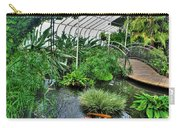001 Within The Rain Forest Buffalo Botanical Gardens Series Carry-all Pouch