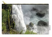 0010 Niagara Falls Misty Blue Series Carry-all Pouch