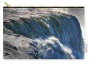 0010 Niagara Falls Winter Wonderland Series Carry-all Pouch