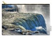 0013 Niagara Falls Winter Wonderland Series Carry-all Pouch