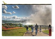 0014 Niagara Falls Misty Blue Series Carry-all Pouch