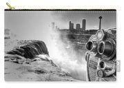 0014a Niagara Falls Winter Wonderland Series Carry-all Pouch