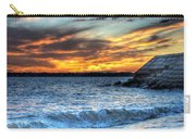 0015 Awe In One Sunset Series At Erie Basin Marina Carry-all Pouch