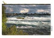 0015 Niagara Falls Misty Blue Series Carry-all Pouch