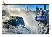 0016 Niagara Falls Winter Wonderland Series Carry-all Pouch