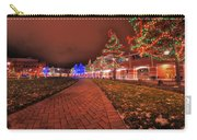 002 Christmas Light Show At Roswell Series Carry-all Pouch