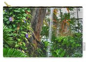 002 Falling Waters Buffalo Botanical Gardens Series Carry-all Pouch