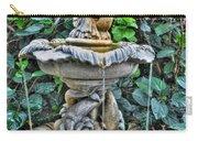 002 Fountain Buffalo Botanical Gardens Series Carry-all Pouch