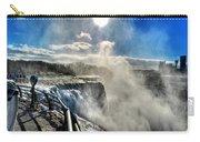 002 Niagara Falls Winter Wonderland Series Carry-all Pouch