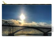 002 Peace Bridge In Passing  Carry-all Pouch