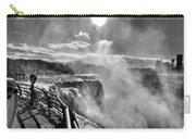 002a Niagara Falls Winter Wonderland Series Carry-all Pouch