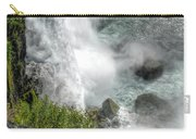 004 Niagara Falls Misty Blue Series Carry-all Pouch