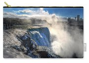 004 Niagara Falls Winter Wonderland Series Carry-all Pouch